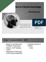 Headache b w