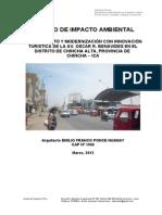 7.1 Estudio de Impacto Ambiental - Chincha