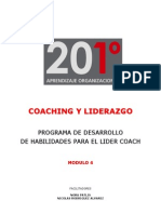 201º -  COACHING Y LIDERAZGO-UTN -  MODULO 4 - MAT. PART.