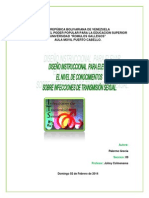 Diseño Instruccional Infecciones de Transmisión Sexual