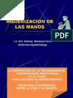 HIGIENIZACION DE LAS MANOS 2010.ppt