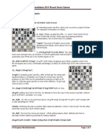 FIDE Candidates Chess Tournament 2014 Round 08