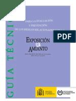 Guía exposición al amianto