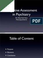 Cognitive Assessment 2