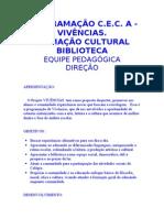 PROJETO VIVENCIAS - CE CASIMIRO DE ABREU