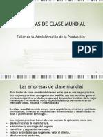 Empresas de Clase Mundial.