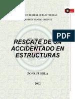 Rescate de Un Accidentado en Estructuras