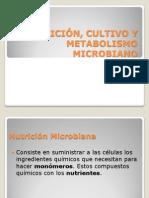 NUTRICIÓN, CULTIVO Y METABOLISMO MICROBIANO MGCSA V2