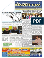 The Village Reporter - March 26th, 2014