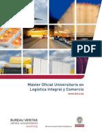 Master Oficial Universitario en Logistica Integral y Comercio Internacional