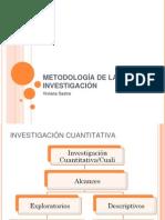 Metodología de la Investigación exploratorios y descriptivos
