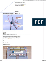 Antena Casera Direccional de 24-27 dBi's