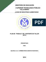 Plan Villamaria 2014