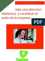 revista grafica como brindar atencion telefonica