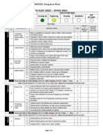 5S Office Area Audit Sheet