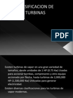 Clasificacion de Turbinas (2)