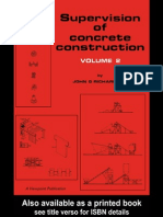 3393 - Supervision of Concrete Construction Volume 2