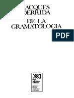 Derrida - De la Gramatología