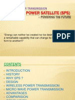 Wireless Power Transmission Solar Power Satellite (Sps) Powering the Future