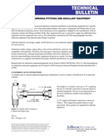 Anhydrous Ammonia Fittings and Ancillary Equipment