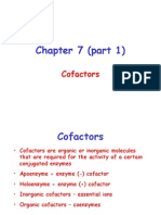 Enzyme Catalysis-Chapter 7 (Part 1)