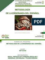 Presentación Metodología para la enseñanza del español