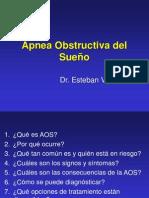 Apnea obstructiva del sueño UNC 2013