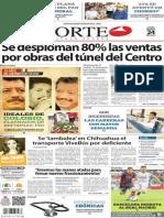 Periódico Norte de Ciudad Juárez edición impresa del 24 marzo del 2014