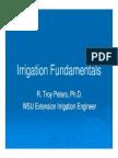 Troy Peters Irrigation Fundamentals 2009