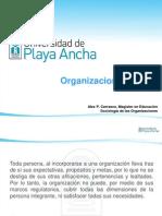 I Introducción a las organizaciones