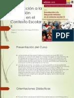 Planeación Curso Artes II_1a. Parte