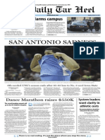 The Daily Tar Heel for March 24, 2014