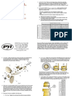 Boat - PYI Max-Prop 3 Blade Instructions