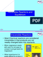KS4 Reversible Reactions