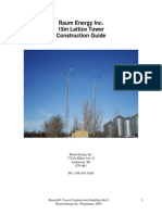 Lattice Tower Constuction Guide