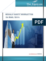 Weekly Equity News Letter 24 Mar 2014