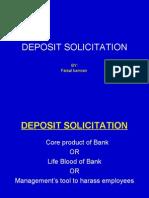 Deposit Solicitation