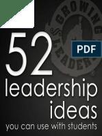 52 Leadership Ideas