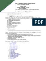 Projects MCA-405 E- Commerce.doc