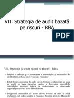 Curs 9 Strategia de Audit RBA