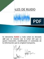 SEÑALES DE RUIDO y FILTROS