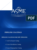 Pipeline Coatings for New Pipelines