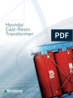 Hyundai Molded / Cast Resin Transformer