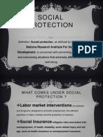 Social Protection (PMU, SGRRP)