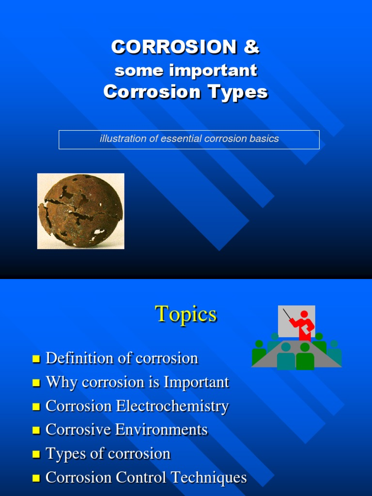 introduction to corrosion | corrosion | electrochemistry