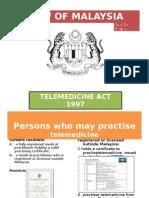 law of malaysia  telemedicine
