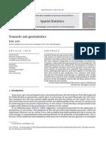 Towards Soil Geostatistics