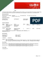 Lion Air eTicket (GYFQOO) - Stb