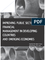 Improving Public Sector Fin Mgt - Notes