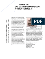 Carle Chromatograph Series 400 196-A Brochure